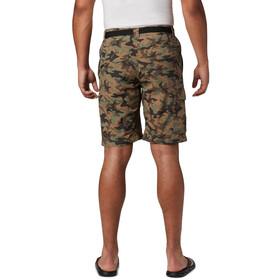Columbia Silver Ridge Printed Cargo Shorts Men cypress camo